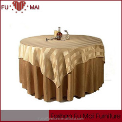 durable quality customized table covers, round wedding table clothes