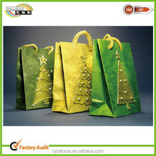 innovative design paper shoping bags & christmas gift bags