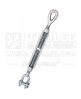 6313-Heavy Duty Wire rope Turnbuckle, Jaw and Eye type, meet standard HG-227