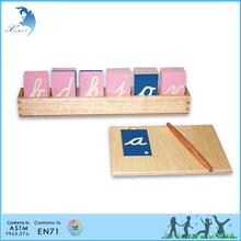 Cuidado de niños centro de medios de enseñanza montessori material educativo juego de mesa