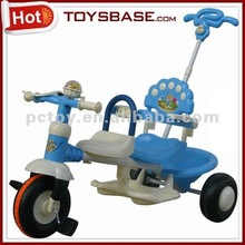8231 Baby tricycle double seats