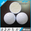 three layer tournament golf ball yellow color for golf club