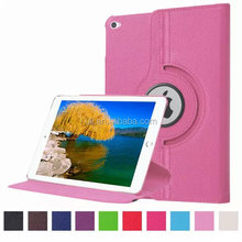 rotating case for ipad pro12.9, PU leather tablet case for ipad pro