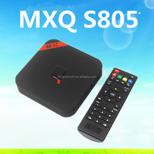 Hot New Products for 2014! Android 4.4 Quad Core 4K TV Box MXQ Amlogic S805 Support OTT 1GB/8GB XBMC H.265