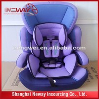 New style certificate ECE R -44/04 safety kids baby car seat