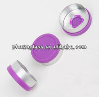 export colorful aluminum cap for glass and plastic bottle,metal lid