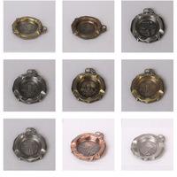 Home Furnishing,Teahouse antique metal ashtray
