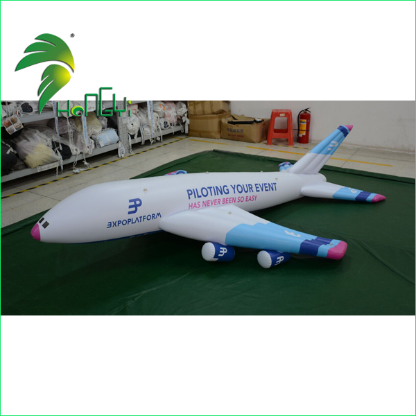 advertising inflatable airplane