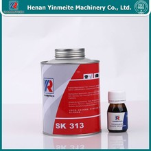 1 kg vulcanized rubber glue for PVC&PVG solid woven belt repair