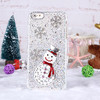 Winter Christmas Snowflake Design Diamond Back Cover Case For iPhone 5 5S 5C