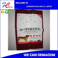 Accept Custom Order PP Polypropylene Woven Pet Food Packaging hottest product