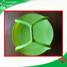 Wholesale FDA Standard Silicone Food Steamer cheap rubber steamer for cooking
