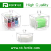 Clear Acrylic Cosmetic Cottton Pad Storage Box 423065