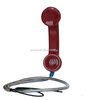 Radiation protective Cell Phone handset, handset for iphone and all mobile phones with noise cancel