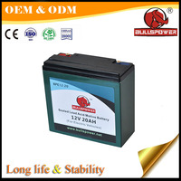 Cheap 48v 12v 20ah batteries power electric scooter
