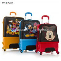 """20"""" Spinner Carry-On Suitcase, Cartoon Characters Hybrid Luggage,Mickey and Minnie Mouse"""