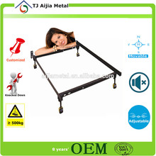 reforzar el marco de la cama 2015 venta caliente mueblesdeldormitorio marco de la cama con ruedas