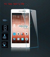Free sample ! 0.3mm 2.5D 9H Premium Tempered Glass Screen Protector for sony E4G E2003