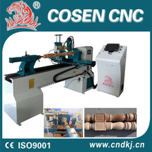 Cnc woodworking lathe/automatic turn lathe/wood lathe price list