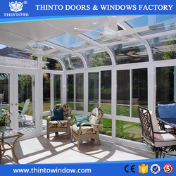Super quality and competitive price fashion outdoor glass garden room
