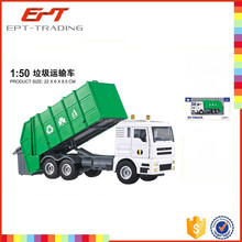 Top quality kids dump truck toy 1 50 scale garbage toy truck for sale