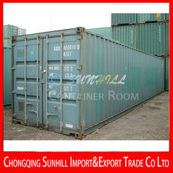 Large supply 40GP used Shipping container