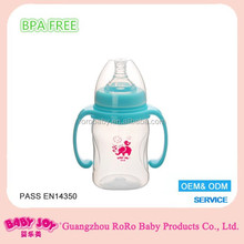 Wide-neck Bpa Free Feeding bottles manufacturers baby milk bottle