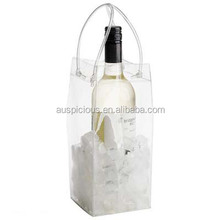 Best Selling High Quality Cooler PVC Ice Wine/Beer Bag for 1 Bottle