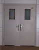 double entrance fireproof doors for hospital and hotel