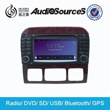 japanese used mercede benzs support canbus with MFD SWC IPAS OPS Radio RDS Lossess Music