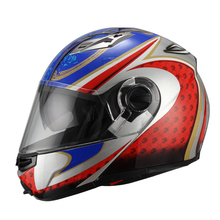 ECE/DOT new ABS Flip up motorcycle helmet JX-A113 with clear/smoke visor