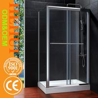 6mm shower bath panels screen supper popular bath screen and 2 slliding doors shower screens SF028
