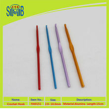 best China supplier sale crochet aluminum hooks Multiple colors