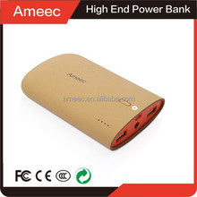 Ameec china supplier OEM li-ion battery 3.7v 7800mah power bank external battery bateria externa for all smart mobile phone