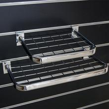 D sharp mesh display hanging rail for shop