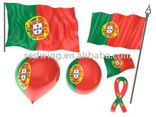 2012 Portugal National Country Car Flags