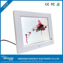 OEM/ODM simple design handmade photo frames high resolution digital photo frame