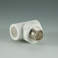 China Imported material any size and colors PPR Fitting Of PPR Tee
