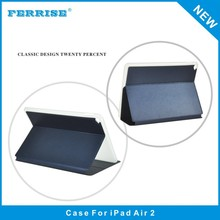 High standard smart flip tablet leather case for ipad air 2