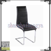 2015 new kind of chrome dining chair in European taste