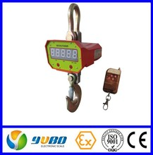 Bottom hanging weight hook scale