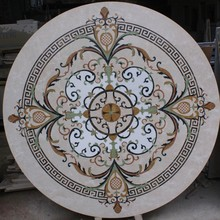 Luxurious Marble Stone Medallion Design for Hotel Floor