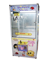 OEM/ODM gifts crane claw machine/toy vending machine for sale for amusement park and market