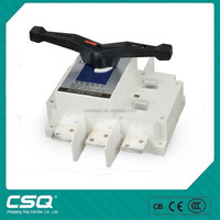 China manufacturer 800amp 3 pole double throw change over switch