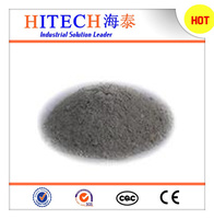 Zibo Hitech high alumina powder low cement mullite refractory castable with high density