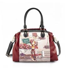 female bag handbag leather china handbag manufacturer Low MOQ 2013 new model lady handbag shoulder bag