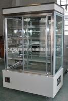 very hot selling Marble cake showcase/display refrigerator