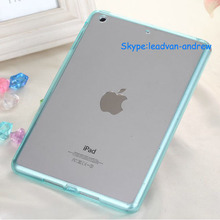Exquisite TPU and Acrylic Ultra Slim Clear TPU Clear For Ipad Mini Smart Case