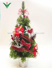 2013 discount mini plastic christmas trees