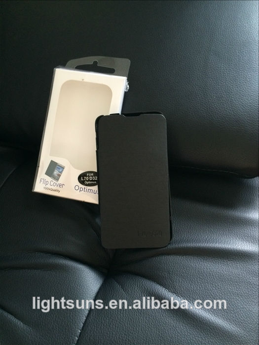 дешевые смарт случай мобильного телефона для lg l70, мобильного телефона защитный футляр/телефон прикрытием для l70